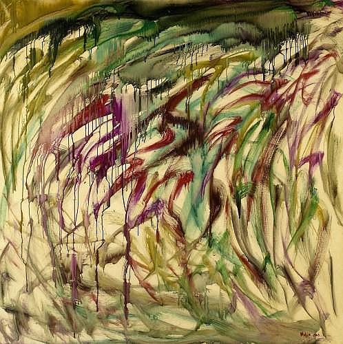 Mubin ORHON (1927 - 1981) SANS TITRE, 1963 Huile sur toile