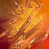 SHUCK ONE Né en 1970 SLIDE EFFECT - 2014 Peinture aérosol et acrylique sur toile