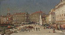 Jean-Baptiste OLIVE 1848 - 1936 PORT DE MARSEILLE Huile sur panneau