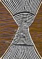 PETYARRE ADA BIRD (ANMATYERRE) (circa 1930 - 2009) ALCHEERA AWELYE, 1997 Acrylique sur toile