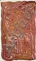 KNGWARREYE EMILY KAME (ANMATYERRE) (circa 1910 - 1996) SANS TITRE / UNTITLED, 1996 Acrylique sur toile (Belgian linen)