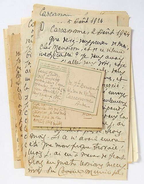 François-Paul ALIBERT  Correspondance à Joe Bousquet, 1924-1941