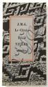 J.M.G. LE CLEZIO Trois villes saintes Gallimard, 1980. E.O. Tirage à 50 ex., celui-ci 1/25 ex. ...