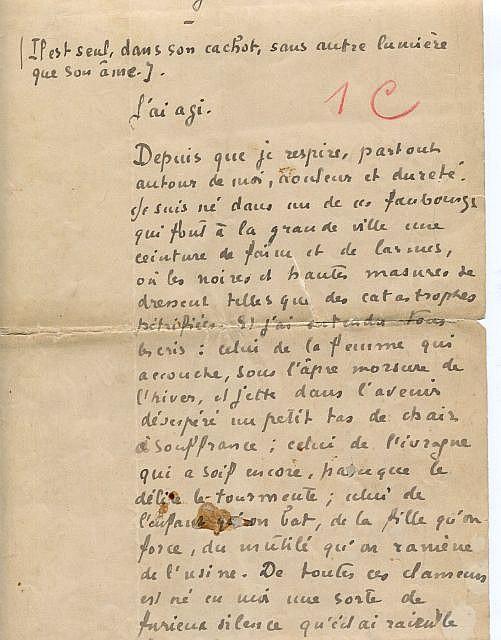 Léon DAUDET  Le monologue du Révolté
