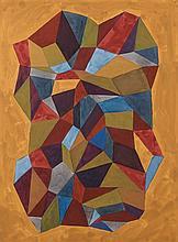 Sol LEWITT (1928 - 2007) COMPLEX FORM - 1988 Gouache sur papier