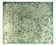 Miquel BARCELO (Né en 1957) IZQUIERDAZO - 2004 Huile et fusain sur toile