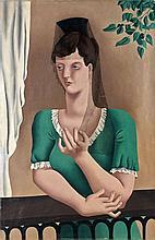 Eugène MAC COWN (1886 -1966) L'ESPAGNOLE - 1924 Huile sur toile