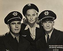 AUX YEUX DU SOUVENIR  Importante photographie promotionnelle du film de 1948