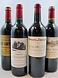 6 bouteilles 2 bts : CHÂTEAU BRANE CANTENAC 2003 2è GC Margaux