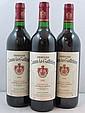 9 bouteilles CHÂTEAU CANON LA GAFFELIERE 1992 1er GCC (B) Saint Emilion