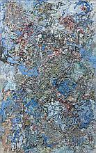 Alexandre ISTRATI (1915-1991) LES MODULATIONS DU TEMPS - 1962 Huile sur toile