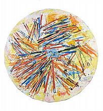 Alexandre ISTRATI (1915-1991) TONDO 2 - 1991 Huile sur toile