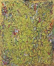 Alexandre ISTRATI (1915-1991) SANS TITRE - 1958 Huile sur toile