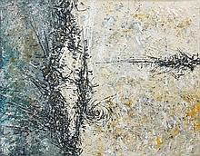 Iaroslav Sossountzov SERPAN (1922-1976) VICABLOOB - 1958 Huile sur toile