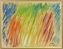 Serge CHARCHOUNE (1888-1975) SANS TITRE - 1948 Aquarelle gouachée sur papier