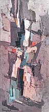 Francis BOTT (né en 1904) SANS TITRE Technique mixte sur toile