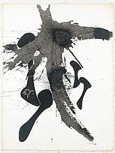 Augustin CARDENAS (né en 1927) COMPOSITION - 1972 Encre de Chine sur papier