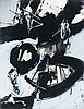Ruth FRANCKEN (né en 1924) TORO AND MATADOR N°17 - 1963 Acrylique sur carton