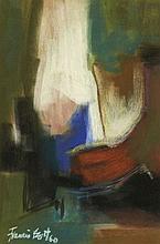 Francis BOTT (né en 1904) ENSEMBLE DE 2 OEUVRES SUR PAPIER 38 x 25 cm