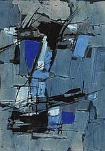 Francis BOTT (né en 1904) ENSEMBLE DE 2 GOUACHES 16,5 x 22,50 cm16,5 x 22,5 cm