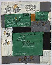 Natalia DUMITRESCO (1915-1997) ENSEMBLE DE 3 GOUACHES 32,5 x 24 cm