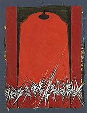 Iaroslav Sossountzov SERPAN (1922-1976) ENSEMBLE DE 3 GOUACHES 63,6 x 49,3 cm