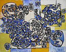 Natalia DUMITRESCO (1915-1997) SANS TITRE Huile sur toile