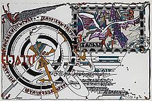 Iaroslav Sossountzov SERPAN (1922-1976) ENSEMBLE DE 3 GOUACHES 70 x 50 cm