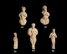 FIGURINE FÉMININE, SUSE, ART MÉDIO-ELAMITE, 1500-1000 AV.J.C.
