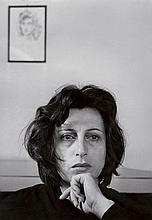 Herbert LIST 1903 - 1975 ANNA MAGNANI, SAN FELICE CIRCEO - 1951 Tirage argentique d'époque sur papier Agfa Brovira