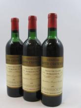 12 bouteilles CHÂTEAU BOYD CANTENAC 1973 3è GC Margaux (2 légèrement bas