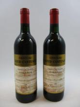 12 bouteilles CHÂTEAU BOYD CANTENAC 1989 3è GC Margaux (base goulot