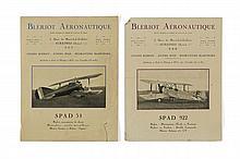 Deux dépliants Blériot Aéronautique