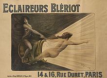 PUBLICITE BLERIOT 1905