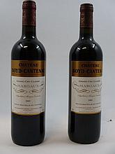 6 bouteilles CHÂTEAU BOYD CANTENAC 2005 3è GC Margaux