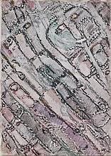 Henri MICHAUX (1899-1984) PEINTURE MESCALINIENNE -1957 Huile sur toile