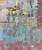 Camille BRYEN (1907-1977) COMPOSITION - 1976 Huile sur toile