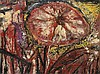 Thanos TSINGOS (1914-1965) SANS TITRE - 1952 Huile sur toile
