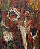 Thanos TSINGOS (1914-1965) SANS TITRE Huile sur toile