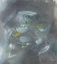 Roberto MATTA (1911-2002) VOLERE MAGNETICO - 1968-69 Huile sur toile