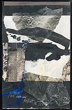 Antoni CLAVÉ (1913 - 2005) SANS TITRE - 2002 Technique mixte et collage sur papier