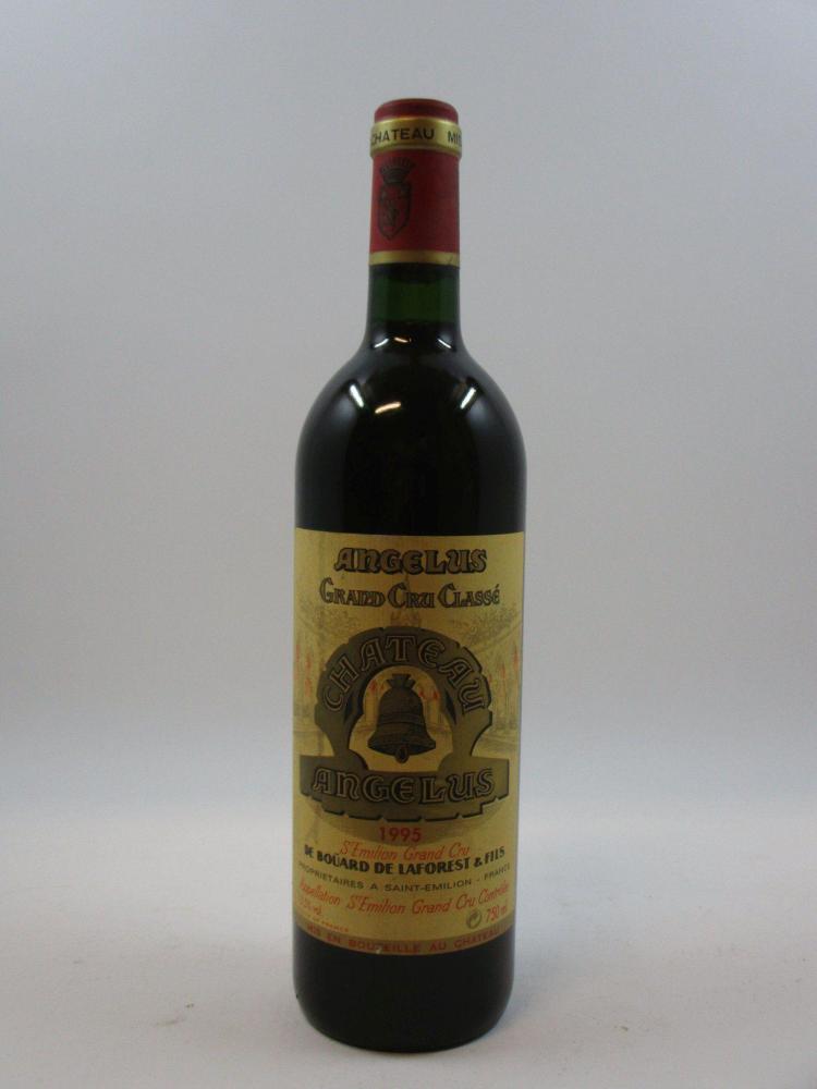 1 bouteille CHÂTEAU ANGELUS 1995 1er GCC (B) Saint Emilion (étiquette tachée) (cave 3)