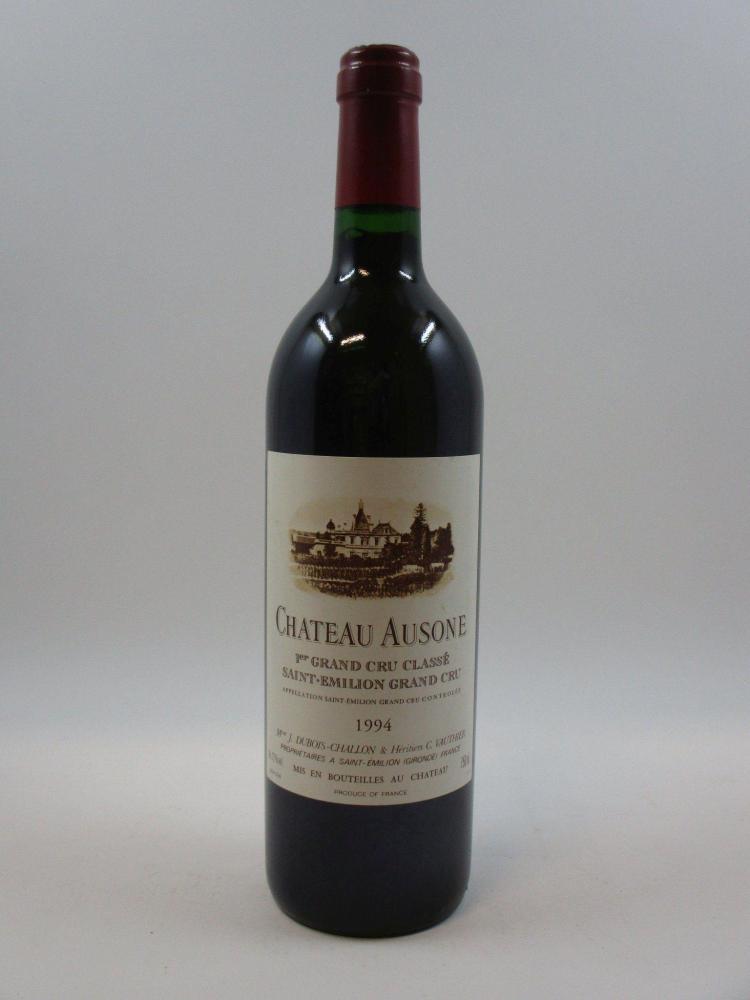 1 bouteille CHÂTEAU AUSONE 1994 1er GCC (A) Saint Emilion (cave 3)