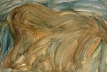 Jean MESSAGIER (1920 - 1999) SANS TITRE Aquarelle sur papier