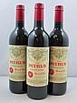 12 bouteilles PETRUS 1995 Pomerol