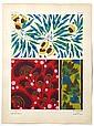 ¤ Eugène-Alain SEGUY  Suggestions pour Etoffes et Tapis : 60 motifs en couleurs