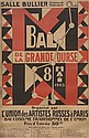 [BALLETS RUSSES] Auguste HERBIN  Bal de la Grande Ourse