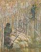 Lucien LEVY DHURMER (Alger, 1865- Le Vésinet, 1953) BERGER GREC Pastel sur papier