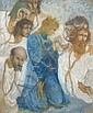 Lucien LEVY DHURMER (Alger, 1865- Le Vésinet, 1953) LES MARTYRS Pastel sur papier teinté