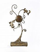 Mark BRAZIER-JONES (Né en 1956) Horloge - 1997 Bronze